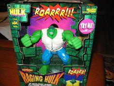 raging hulk toybiz - Google Search