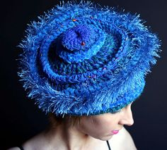 Blue Hat by Prudence Mapstone | Flickr - Photo Sharing!