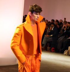Top 10 Emerging Trends from London Collections: Men AW13 bright colour