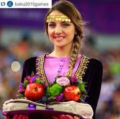Baku 2015 European games  Azerbaijani girl ^^