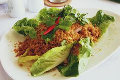 Crispy Catfish Salad, The Nest