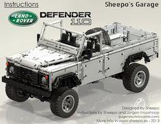 TechnicBRICKs: Instructions for Land Rover Defender 110