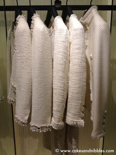 White Chanel boucle jackets, want one of this just like in Blue Jasmine