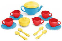 Green Toys - Tea Set Blue
