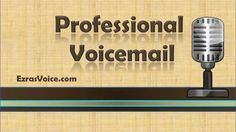 Fact having a professional voicemail greeting creates immediate professional voicemail voicemail greetings examples professional voice m4hsunfo