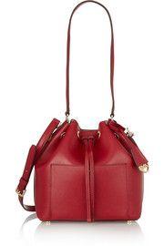 MICHAEL Michael KorsGreenwich medium textured-leather bucket bag