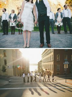 Dress by Ivy and Aster, Bridal Party Photography Saint John Wedding Portraits  Shari + Mike Photography