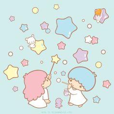 Little twin stars Kiki and lala