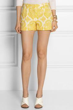 Diane von Furstenberg|Naples jacquard shorts|NET-A-PORTER.COM