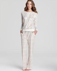 Kensie First Frost Sweater Top & Pants   Bloomingdale's