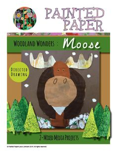 PAINTED PAPER: Woodland Wonders- Animals of the Forest