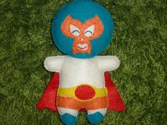 Luchador/Lucha Libre Softie - Action Hero Doll for Kids of all Ages