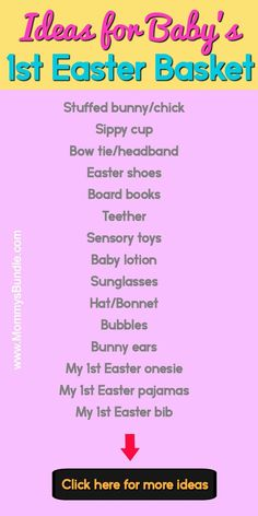 Super baby first easter crafts egg hunt Ideas Baby's First Easter Basket, Easter Baskets, Easter Basket For Babies, Babys First Easter Boy, Baby Baskets, Easter Crafts For Kids, Easter Gift, Bunny Crafts, Easter Party