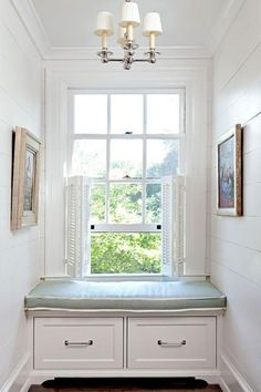 window seat in a dutch colonial home House, Interior, Traditional House, Home, Windows, Bathroom Windows, Dutch Colonial Homes, House Interior, Interior Design
