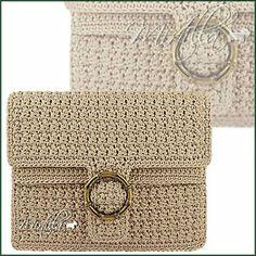Cream purse