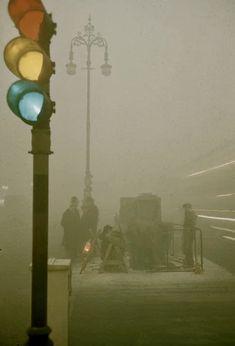 London smog 1952 London Pride, Long Gone, Vintage London, Old Things, England, Anime, Cartoon Movies, Anime Music, English