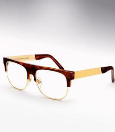 2ca9a6e27adc5 Super - Andrea Havana   Gold.  246  glasses - Sale! Up to 75% OFF! Shop at  Stylizio for women s and men s designer handbags