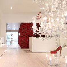 Luxury Shoe Store in Belgium by Design Agency Creneau