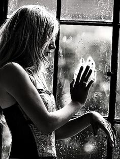 deep feelings ... who is she thinking about ?...... Her Sadness, Missing, longing ?