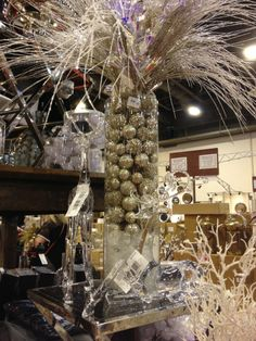 Inspiration for Christmas 2013.  My first year shopping at Houston's Nutcracker Market.