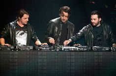 Swedish House Mafia was a Swedish electronic dance music trio consisting of three house disc jockeys and producers: Axwell, Steve Angello, and Sebastian Ingrosso. Swedish House Mafia, Edm Music, Dance Music, House Music, Music Is Life, Steve Angello, Aly And Fila, Detroit Techno, Techno House