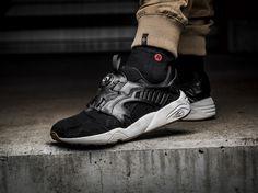 Puma Disc Blaze Felt ? Fresh In  http://www.3komma43.com/blog/sneaker-puma-disc-blaze-felt