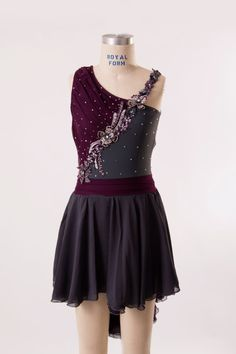 lyrical dance costume  Adult Small by customcostumesbyjess on Etsy
