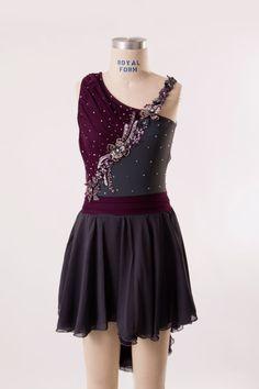 lyrical dance costume Adult Small by customcostumesbyjess on Etsy