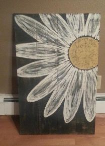 pallet signs, diy, home decor, painted furniture, pallet, repurposing upcycling, woodworking projects, Another of my favorites love the daisy signs