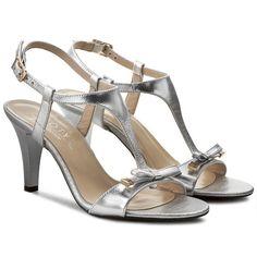 Sandale KOTYL - 4305 Argintiu
