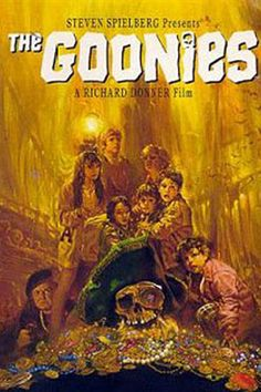 The Goonies...one of my all time fav's as a tween!  Everytime this is on the TV, I have to watch it.  3 out of 5 stars.