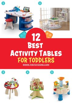 We have compiled a list of the 12 best toddler activity tables that came highly recommended by parents and showed no review manipulation. It is important for us to ensure that each activity table on this list is one of the best and promotes learning and helps them with various developmental skills. Each of these tables is designed for both boys and girls of toddler age and they are all made from high-quality, non-toxic materials for safety. Best Toddler Toys, Toddler Age, Best Kids Toys, Activity Tables, Activity Centers, Table Activities For Toddlers, Cool Toys For Boys, Best Educational Toys, Toys For 1 Year Old