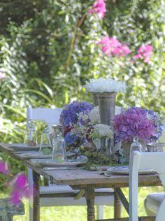 garden wedding | tablescape