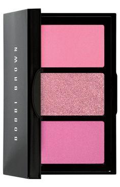 Glam pink cheek palette.
