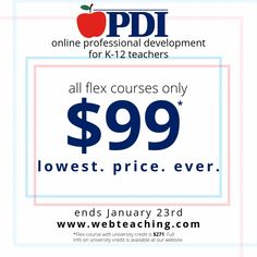Professional Development Institute Online Graduate-Level Courses for Teachers Learning Resources, Teaching Tips, Teacher Resources, Online Education Courses, Middle School, High School, Professional Development For Teachers, Anti Bullying, Elementary Schools