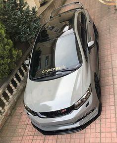 Günaydiiiinnn #honda #civic #hondaizm #japan #jdm #usdm #dapper #canibeat #cambergang #slammed #stancenation #stanceworks #raceism #vti #hondaday #airmadz #carporn #cargram #car #jdmdaily #jdmgram #jdm #royalstance #modifieddaily #accuair #vossen #airsociety #loweredlifestyle Honda Civic 2013, Honda Civic Sport, Honda Civic Hatchback, Civic Lx, Honda City, High Performance Cars, Lux Cars, Japanese Cars, Sport Cars