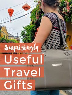 Surprisingly Useful Travel Gifts These surprisingly useful travel gift ideas come from gear we use on our own travels as digital nomads. Pick from these tried and tested gifts for travelers that they'll actually use! Road Trip On A Budget, Budget Travel, Travel Guides, Travel Tips, Travel Packing, Best Travel Gifts, Travel Gadgets, Practical Gifts, Worlds Of Fun