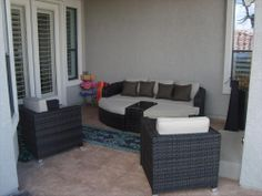 BuildDirect: Patio Furniture Patio Furniture   Monte Carlo Series   4 Piece Day Bed Set