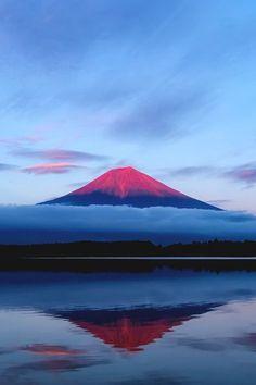 """reals: """" Mt. Fuji, Japan   Photographer """""""