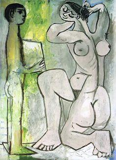 Pablo Picasso - The toilette (1954)