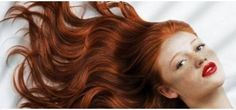 Long.  Red hair.  Blue eyes.  Red lips.  Couldn't get much better :<)