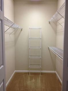 empty walk in closet. Empty Walk In Closet