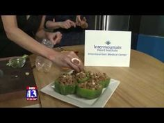 Jennifer Burns and Sarah Young from the Intermountain Medical Center Heart Institute show you how to make delicious Thai Chicken Stuffed Peppers.