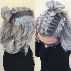 I wish i could do this but my hair is too long!!