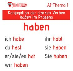 Deutschlernen in Wien German Grammar, German Language Learning, Thing 1, Activities For Kids, Germany, Education, Life, German Language, Languages