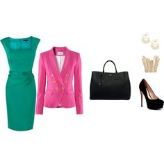 Creative Work Attire 3, created by jaimegs on Polyvore