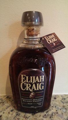 Elijah Craig Barrel Proof. 140.2 proof! #bourbon @thebottlespot http://www.bottle-spot.com/posts/81979/manhattan-new-york-whisky-for-sale---2014-elijah-craig-barrel-proof-bourbon-whiskey-6th-release-hazmat