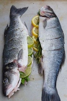 Grilled Whole Fish — Butter & Sea Salt