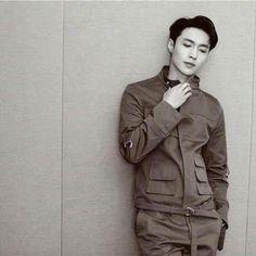 VogueMe x Yixing Sehun, 5 Years With Exo, Yixing Exo, Baby Unicorn, Military Jacket, Winter Jackets, Kpop, Lay Exo, Mochi