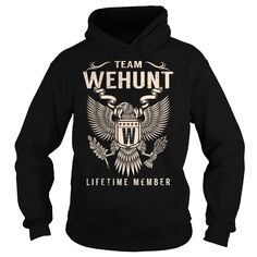 Team WEHUNT Lifetime Member - Last Name, Surname T-Shirt